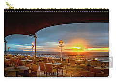 Carry-all Pouch featuring the photograph Sea Cruise Sunrise by John Poon