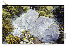 Carry-all Pouch featuring the photograph Sea Fan Coral by Perla Copernik