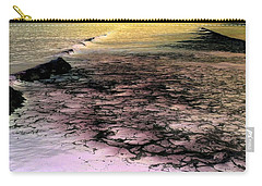 Sea Foam Waves Carry-all Pouch