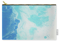 Carry-all Pouch featuring the painting Sea Foam by Nikki Marie Smith