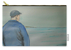 Carry-all Pouch featuring the painting Sea Gaze by Anthony Ross
