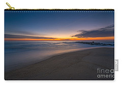 Sea Girt Sunrise New Jersey  Carry-all Pouch by Michael Ver Sprill