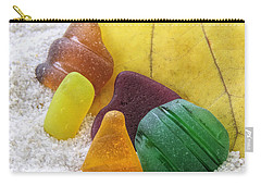 Sea Glass In Fall Colors Carry-all Pouch