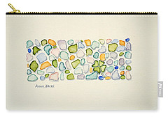 Sea Glass Puzzle - Found Luck Carry-all Pouch