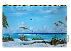 Sea Grass On The Key Carry-all Pouch