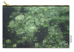 Sea Green Abstract Carry-all Pouch