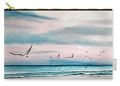 Sea Gulls On The Gulf Carry-all Pouch