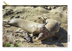 Sea Lion Family Carry-all Pouch