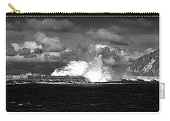 Carry-all Pouch featuring the photograph Sea Meets Sky by Nareeta Martin