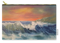Sea Mist Carry-all Pouch by Denise Tomasura