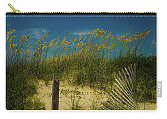 Sea Oats And Sand Fence Carry-all Pouch