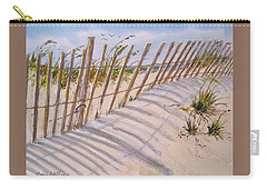 Sea Oats And Shadows Carry-all Pouch