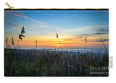 Sea Oats Sunrise Carry-all Pouch