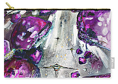 Sea Of Amethysts Travel Log 06 Carry-all Pouch