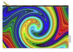 Sea Of Colors Carry-all Pouch