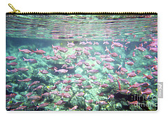 Sea Of Fish 2 Carry-all Pouch by Karen Nicholson
