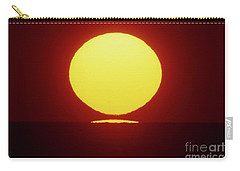 Carry-all Pouch featuring the photograph Sea Of Japan by Tatsuya Atarashi