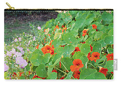 Sea Of Nasturtiums Carry-all Pouch