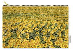 Sea Of Yellow Carry-all Pouch