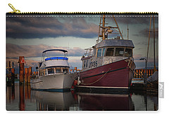 Carry-all Pouch featuring the photograph Sea Rake by Randy Hall