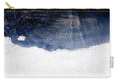 Sea, Satellite - Coast Line On Blue Ocean Illusion Carry-all Pouch