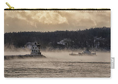 Sea Smoke At Rockland Breakwater Light Carry-all Pouch