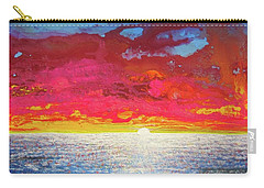 Sea Splendor Carry-all Pouch by Mary Ellen Frazee