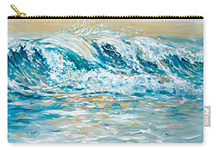 Sea Spray Carry-all Pouch by Linda Olsen