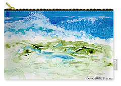Sea Storm Carry-all Pouch by Joan Hartenstein