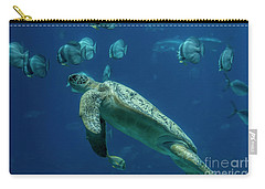 Sea Turtle Carry-all Pouch by Barbara Bowen