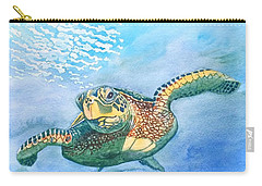 Sea Turtle Series #2 Carry-all Pouch