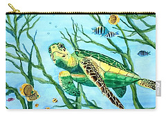 Sea Turtle Series #3 Carry-all Pouch