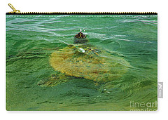 Sea Turtle Up For Air Carry-all Pouch