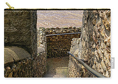 Carry-all Pouch featuring the photograph Sea View Arch by Scott Carruthers