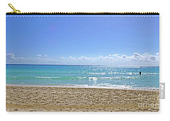 Carry-all Pouch featuring the photograph Sea View M2 by Francesca Mackenney