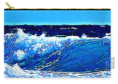 Carry-all Pouch featuring the digital art Sea by Zedi