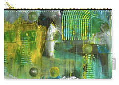 Carry-all Pouch featuring the painting Seacliff by Everette McMahan jr