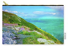 Seacoast At Howth Carry-all Pouch by Judi Bagwell