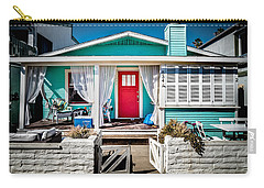 Carry-all Pouch featuring the photograph Seafoam Shanty by T Brian Jones
