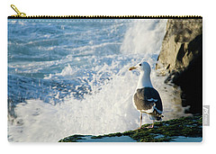 Seagull And The Sea Carry-all Pouch