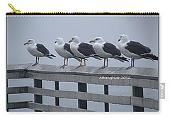 Seagull Friends Carry-all Pouch