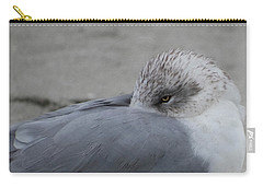 Seagull On The Beach Carry-all Pouch