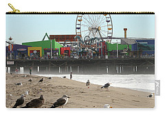 Seagulls And Ferris Wheel Carry-all Pouch