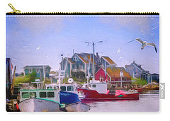 Seagulls Of Peggys Cove Carry-all Pouch