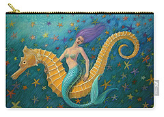 Seahorse Mermaid Carry-all Pouch
