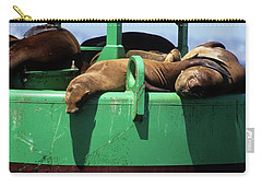 Seals On Channel Marker Carry-all Pouch