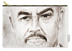 Sean Connery Carry-all Pouch by Edgar Torres