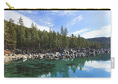 Carry-all Pouch featuring the photograph Search For Depth by Sean Sarsfield