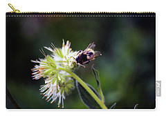 Searching For Pollen Carry-all Pouch