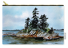 Seascape Casco Bay Maine Carry-all Pouch